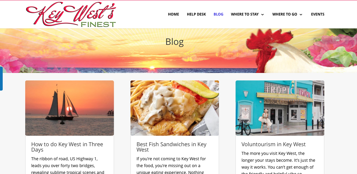 Key West Finest Website Design