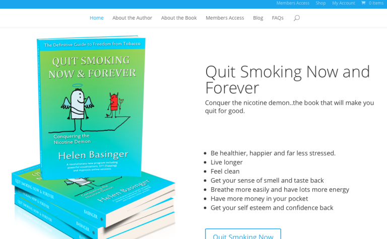 Quit Smoking Now & Forever